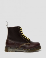 1460 PASCAL ATLAS LEATHER OXBLOOD BOOTS