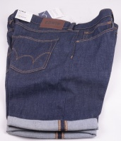 55 Bermuda Denim Shorts Unwashed