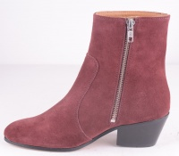 Gracie Zip Boots Red Rooster