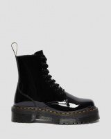 JADON PATENT LEATHER PLATFORM BOOTS
