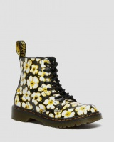 JUNIOR 1460 FLORAL ANKLE BOOTS