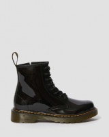 JUNIOR 1460 PATENT LEATHER ANKLE BOOTS