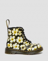 TODDLER 1460 FLORAL ANKLE BOOTS