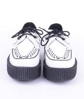 V6803 White Leather