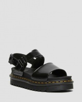 VOSS WOMEN'S PATENT LEATHER STRAP SANDALS