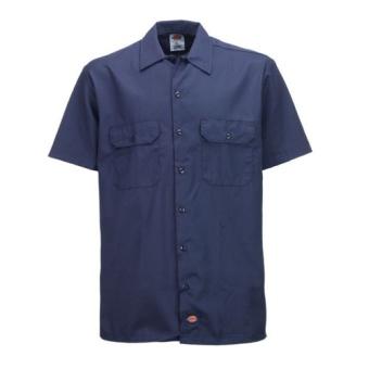 S/S Work Shirt Navy 1574
