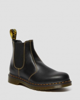 2976 ATLAS LEATHER CHELSEA BOOTS