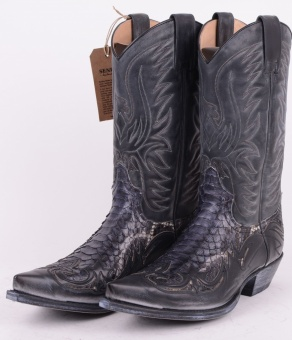 3241P Denver Grey Mimo Python Boot