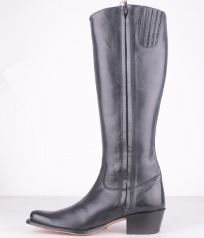 7422 High Boot with High Heel Black