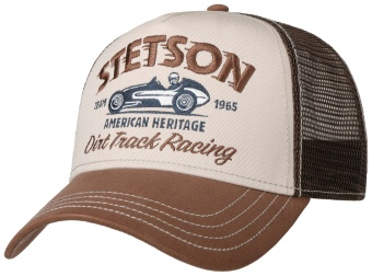 Trucker Cap Dirt Track Racing Brown
