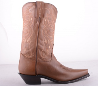 7906 Brown High Boot