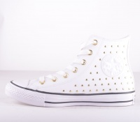 All Star Leather Nitar White