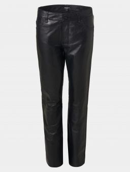 Abbe Leather Jeans