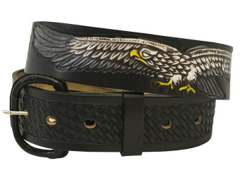 Black Eagle Belt (removable buckle)