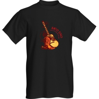 Boots & Guitar Tee Black