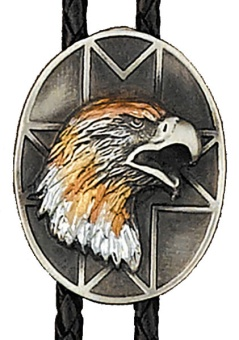 BT-1168 Tri-color Eagle  SILVER PLATED