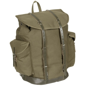 BW Mountain Backpack, old model, OD green
