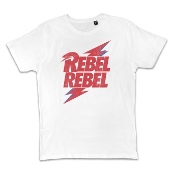 Bowie Rebel Tee White