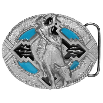 Bullrider Belt Buckle
