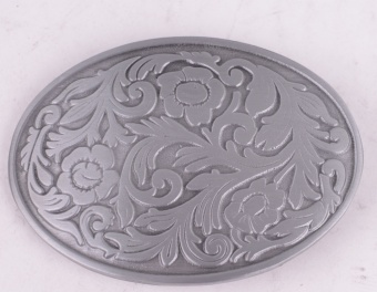 Clean Pattern Belt Buckle
