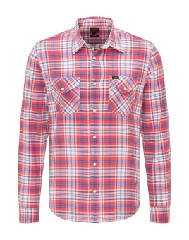 CLEAN WESTERN SHIRT AURORA RED