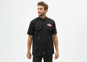 Clintondale Shirt S/S Black
