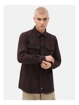 Plesent Hill Shirt Brown/Red
