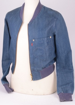 Levi's RED denim Jacket, Size S