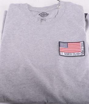 Ashville T-shirt Grey Melange