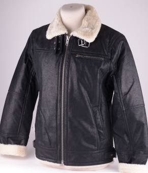 Axel Black Leather