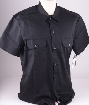 S/S Slim Shirt Black