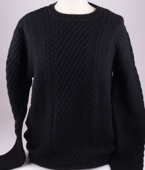 I022272 Sweat Wool Black