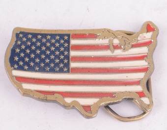 America Belt Buckle