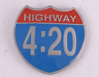 Highway Belt Buckle