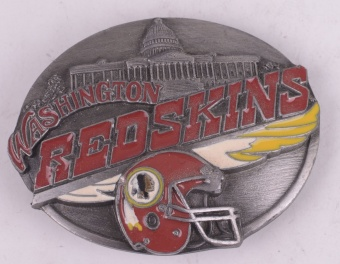 Redskins Belt Buckle