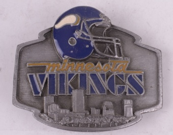 Minnesota Vikings Belt Buckle