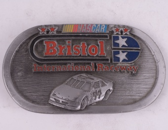 Bristol Nascar Belt Buckle