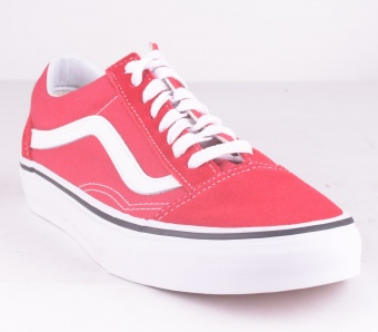 Old Skool Crimson Red/Wht