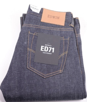 ED-71 Slim Straight Red Listed Raw