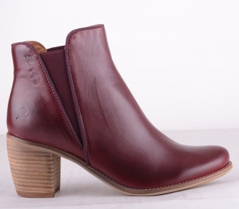 8366-129 Elastic Boot Bordeaux