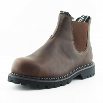 Falcon Chelsea Boot Steeltoe Brown