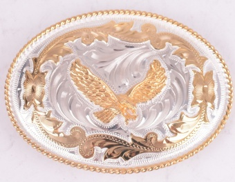 Gold Eagle Belt Buckle