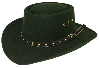 Gambler Hat Hunter Green