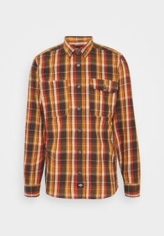 Glenmora Shirt Brown/Orange