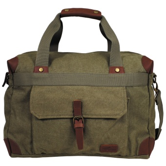 "Handbag, Canvas, ""PT"", OD green"