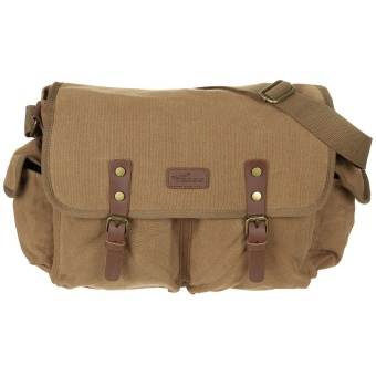 "Handbag, Canvas, ""PT"", brown"