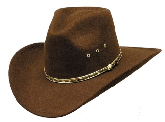 John Brown Pinch Front Faux Felt Hat