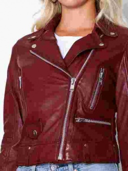 Katja Leather Cherry