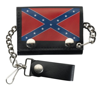 LW-13 Trifold Wallet Rebel Flag