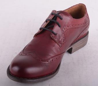 7176-129 Lace Shoe Brogue Bordeaux